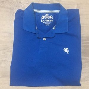 Express Royal blue polo - XL